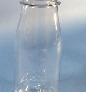 Flaske 250 ml klar / 38mm 2 start / PET