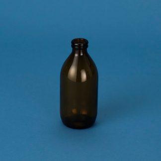 Medicinflaske 300 ml brun/vulst/28 mm