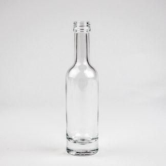 Glasflaske 50 ml klar Ariane/ 18 mm