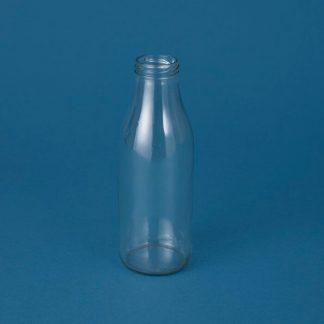 Glasflaske 500ml / klar 43mm