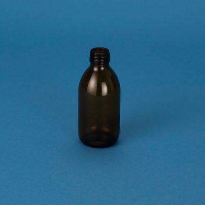 Medicinflaske 200 ml brun /28 mm