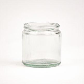Salveglas 120 ml klar /58 mm