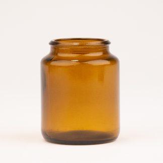 Tabletglas 125 ml brun / 42 mm