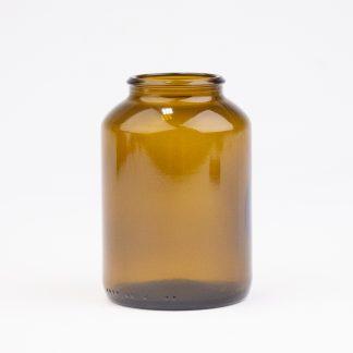 Tabletglas 200 ml brun / 42 mm