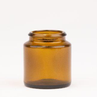 Tabletglas 30 ml brun / 34 mm
