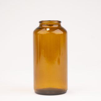 Tabletglas 300 ml brun / 42 mm