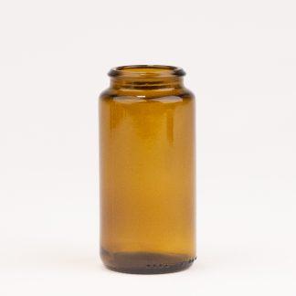 Tabletglas 75 ml brun /34 mm