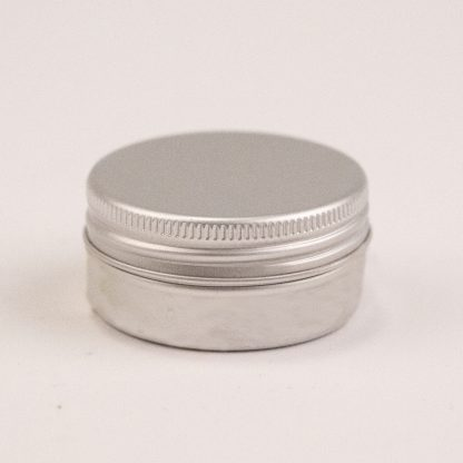 Alumuniumsdåse 15ml inkl låg m.EPE liner