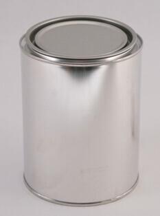 Blikpatentdåse 1 l. /105 mm