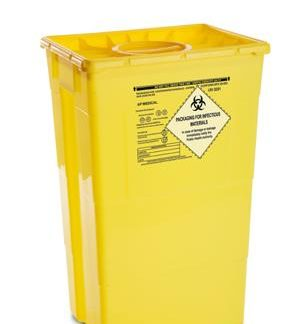 Beholder 60 l. til risk.affald/