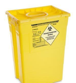 Beholder 50 l. til risk.affald/