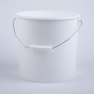 Spand 11,1 l. hvid/ 266 mm