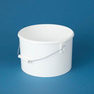 Spand 7,5 l. hvid / 266 mm