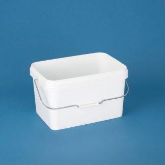Rectainer 17 ltr. hvid