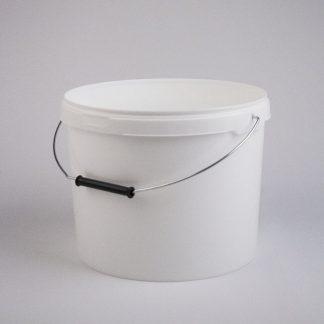 Spand 10L hvid / 289mm med