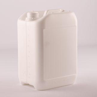 Dunk 5 l. hvid m kile i bund/ 43 mm m/ trekant