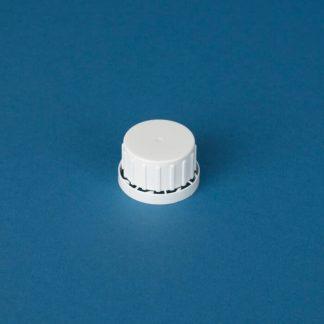 Vulstkapsel 32 mm hvid m/låsering