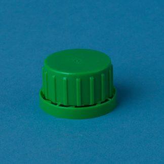 Vulstkapsel 32 mm grøn m/låsering