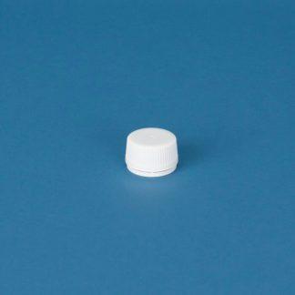 Kapsel 35 mm hvid m/indlæg m/ brydering