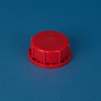 Vulstkapsel 61 mm rød