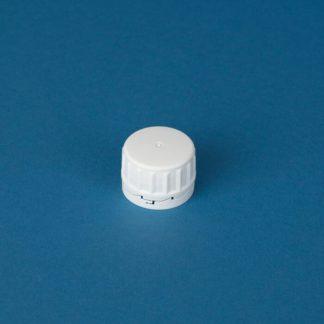 Kapsel 32 mm hvid m/konus/låsering