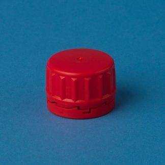 Kapsel 32 mm rød m/konus/låsering