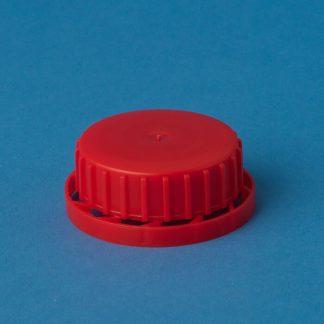 Vulstkap. 40 mm rød m/lås&vulst
