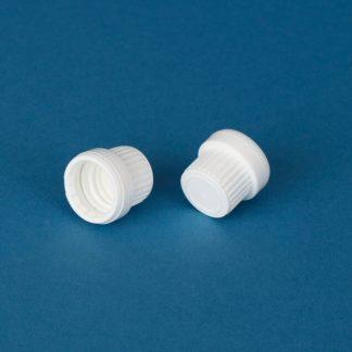 Kapsel 18 mm hvid m/forsegling