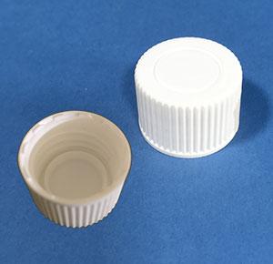 Kapsel 22 mm hvid