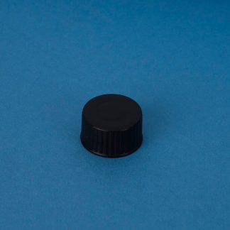 Vulstkapsel 22 mm sort