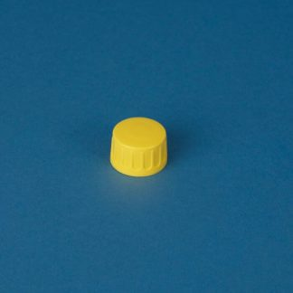 Kapsel 28 mm gul m/hældering