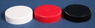 Låg 60 mm rød m/indlæg og skum