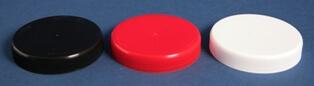 Låg 80 mm rød m/indlæg og skum