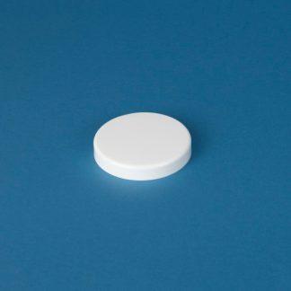 Skruelåg 100 mm hvid