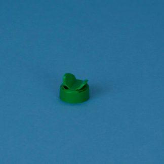 Strøkapsel 38 mm grøn m/2 huller