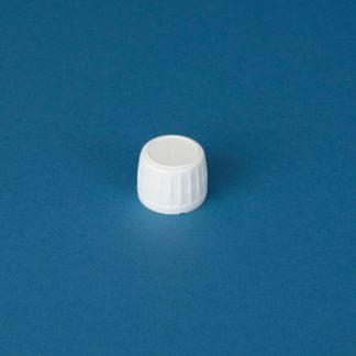 Kapsel 28 mm hvid m/Saranex liner