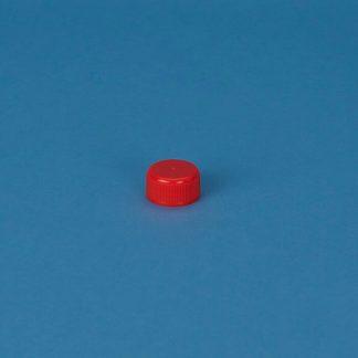 Kapsel 32 mm rød