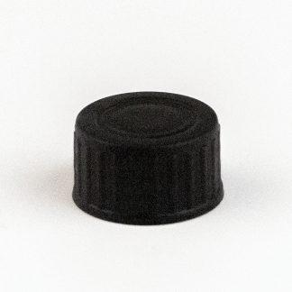 Kapsel 20 mm sort / vulst