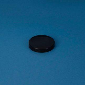 Låg 70 mm sort m/epe-liner