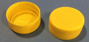 Kapsel 38 mm 2-start / Gul