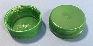 Kapsel 38 mm 2-start / Grøn