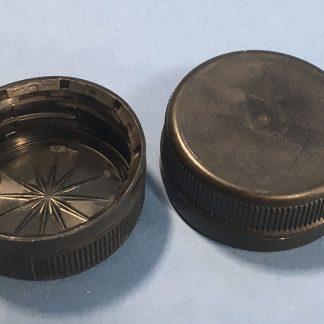 Kapsel 38 mm 2-start / Sort