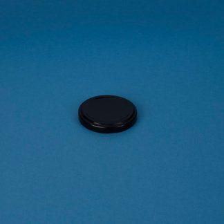 Twist-off låg 58 mm sort