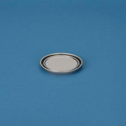 Blikpatentlåg 105 mm blank/blank