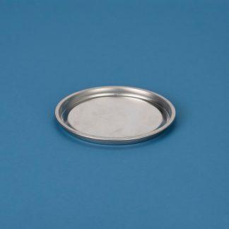 Blikpatentlåg 153 mm blank/blank