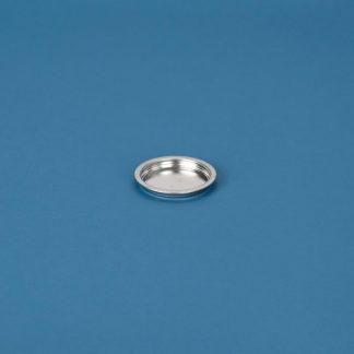 Blikpatentlåg 73 mm blank/blank