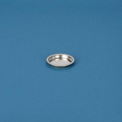 Blikpatentlåg 73 mm blank udvendig