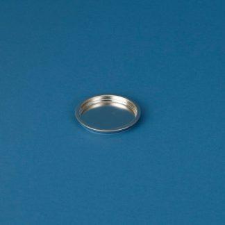 Blikpatentlåg 90 mm blank