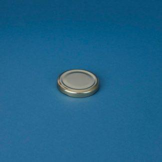 Twist-off låg 58 mm guld