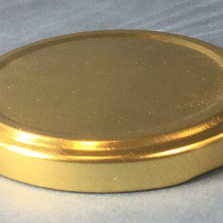Twist-off låg 63mm / guld